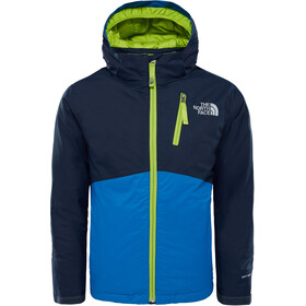 The North Face Youth Snowquest Plus Jacket Turkish Sea